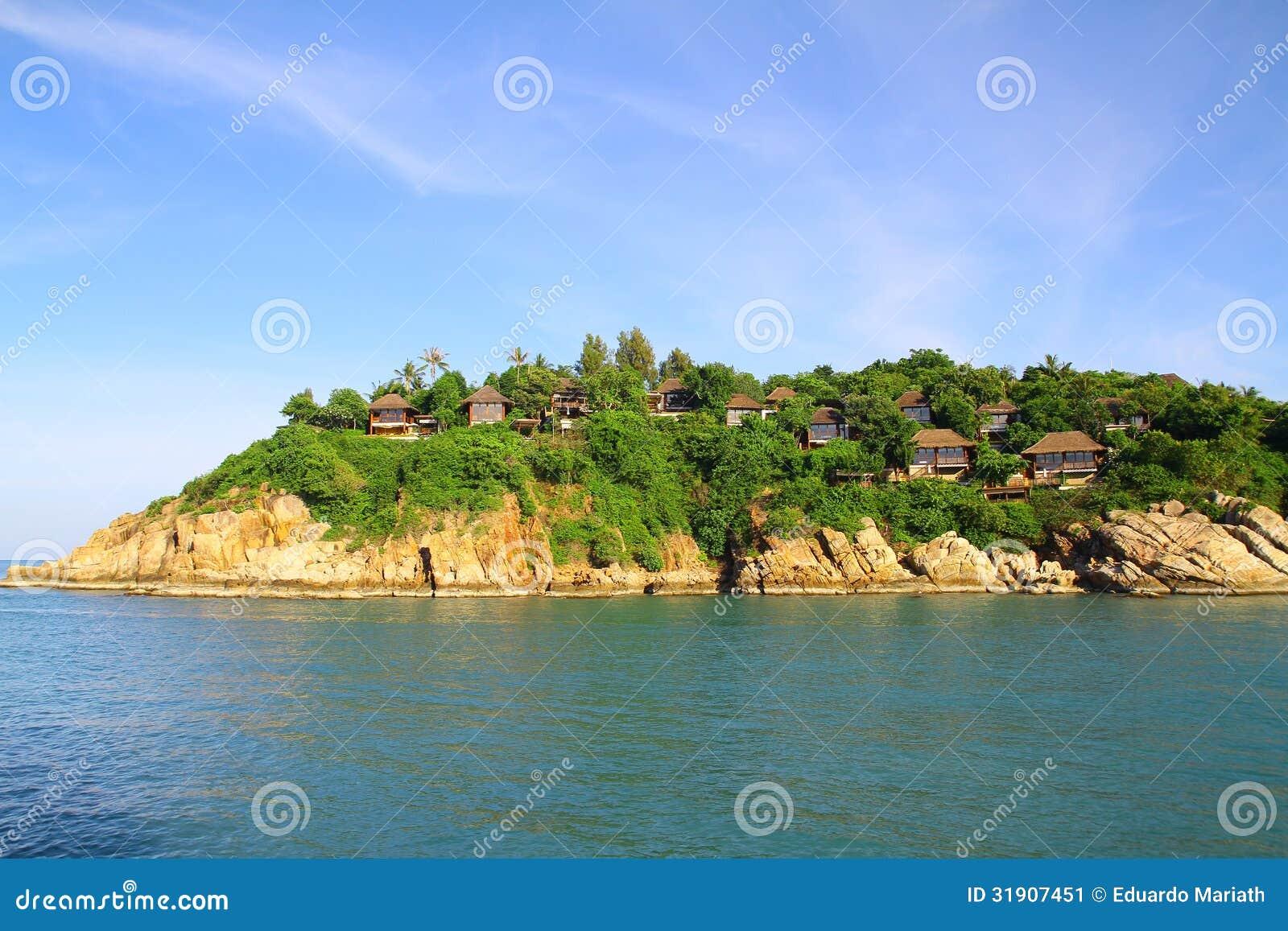 Luxury villas in koh samui thailand stock image image for Luxury retreats koh samui