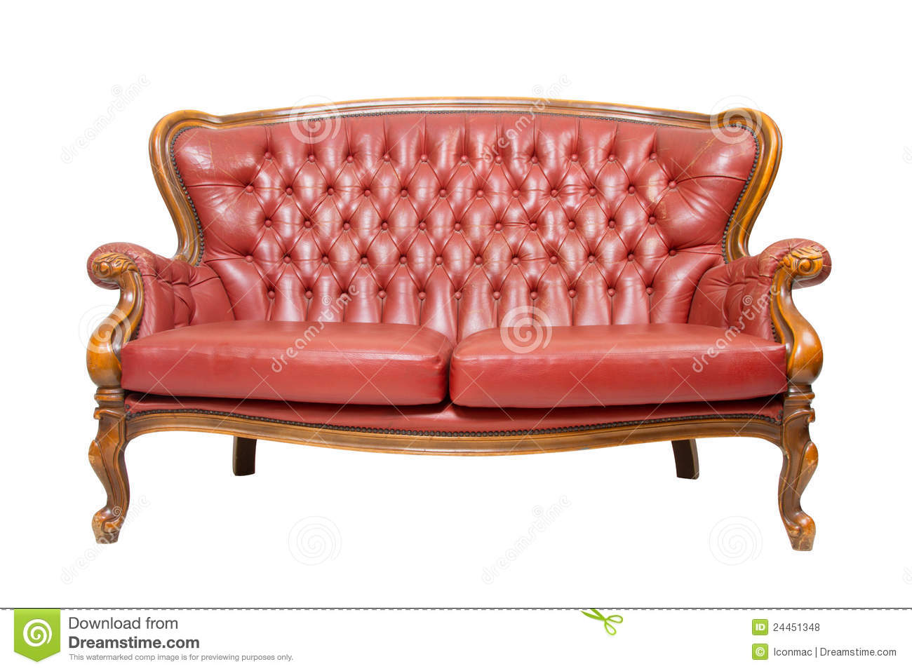 luxury vintage red sofa stock photo image of design 24451348. Black Bedroom Furniture Sets. Home Design Ideas