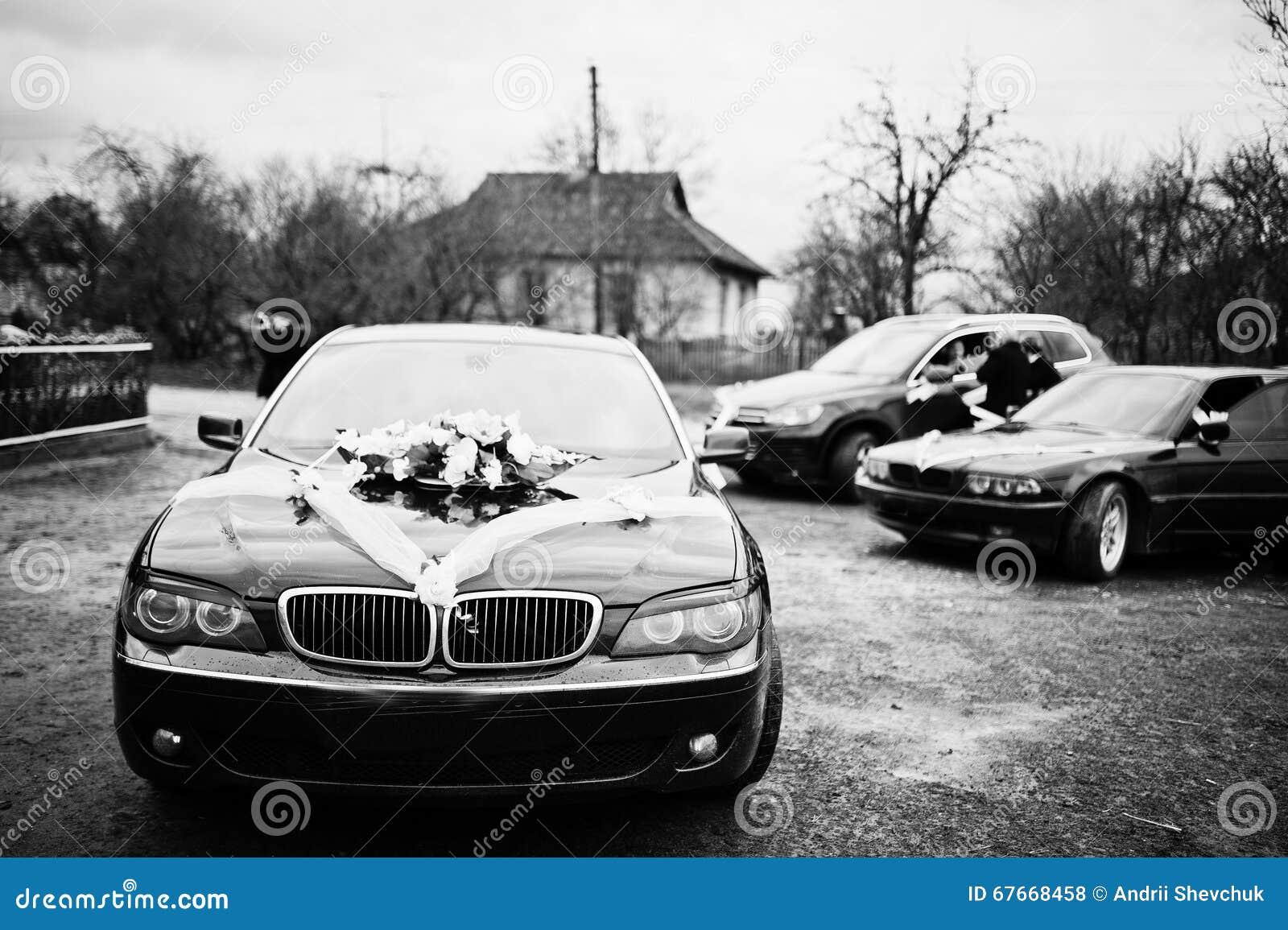 Luxury Wedding Cars With Decor Stock Photo Image Of Love Luxury