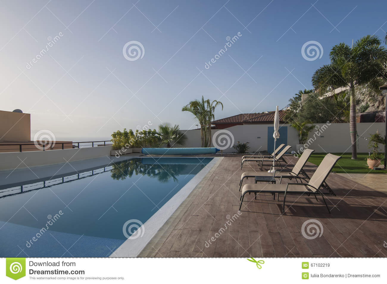 Swimming pool at villa royalty free stock image for Swimming pool dealers