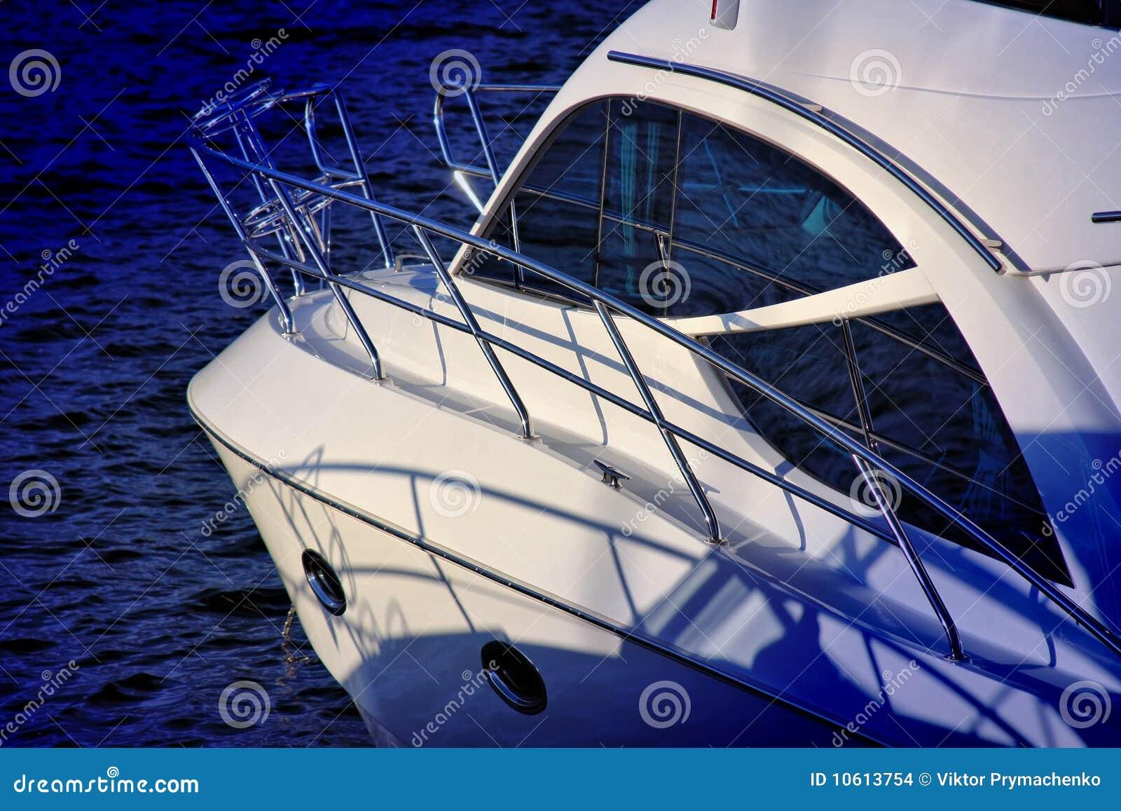 Luxury Motor Yacht Stock Images Image 10613754