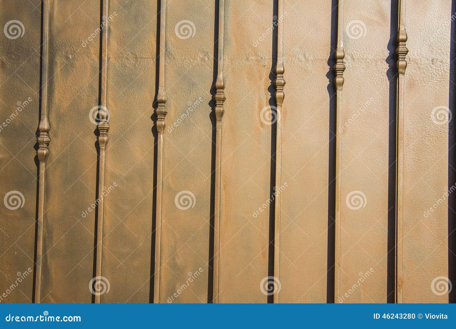 Luxury wrought iron fence detail stock photo for Luxury fences