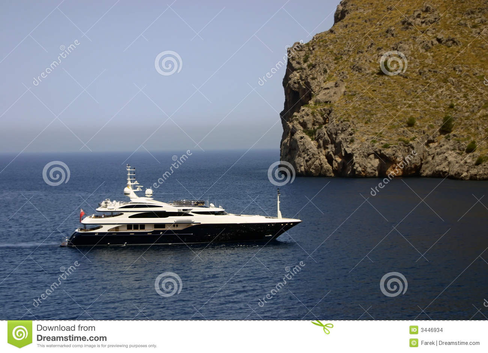 Luxury yacht trip