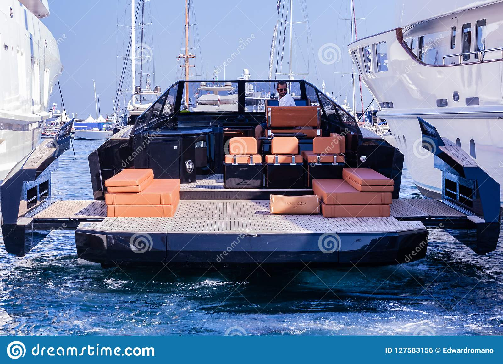 Luxury Yachts, Monaco Yacht Show 2018  Monte-Carlo, France