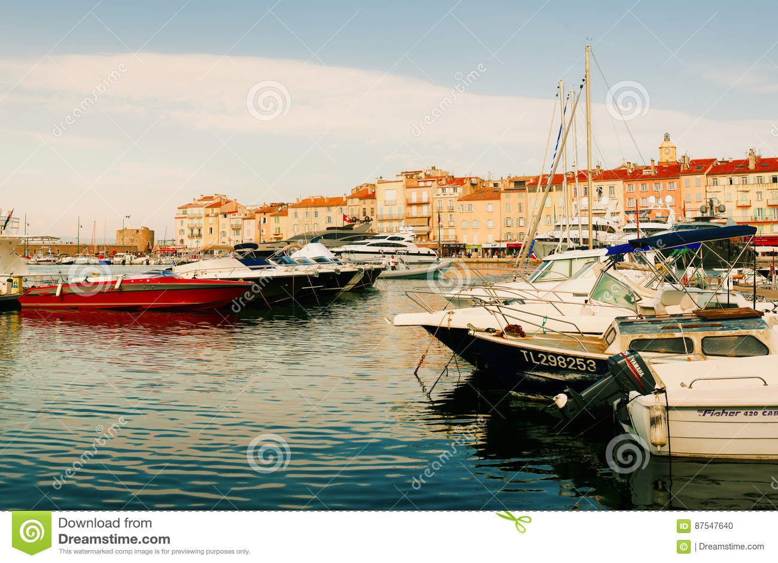 Luxury Yachts in Saint-Tropez