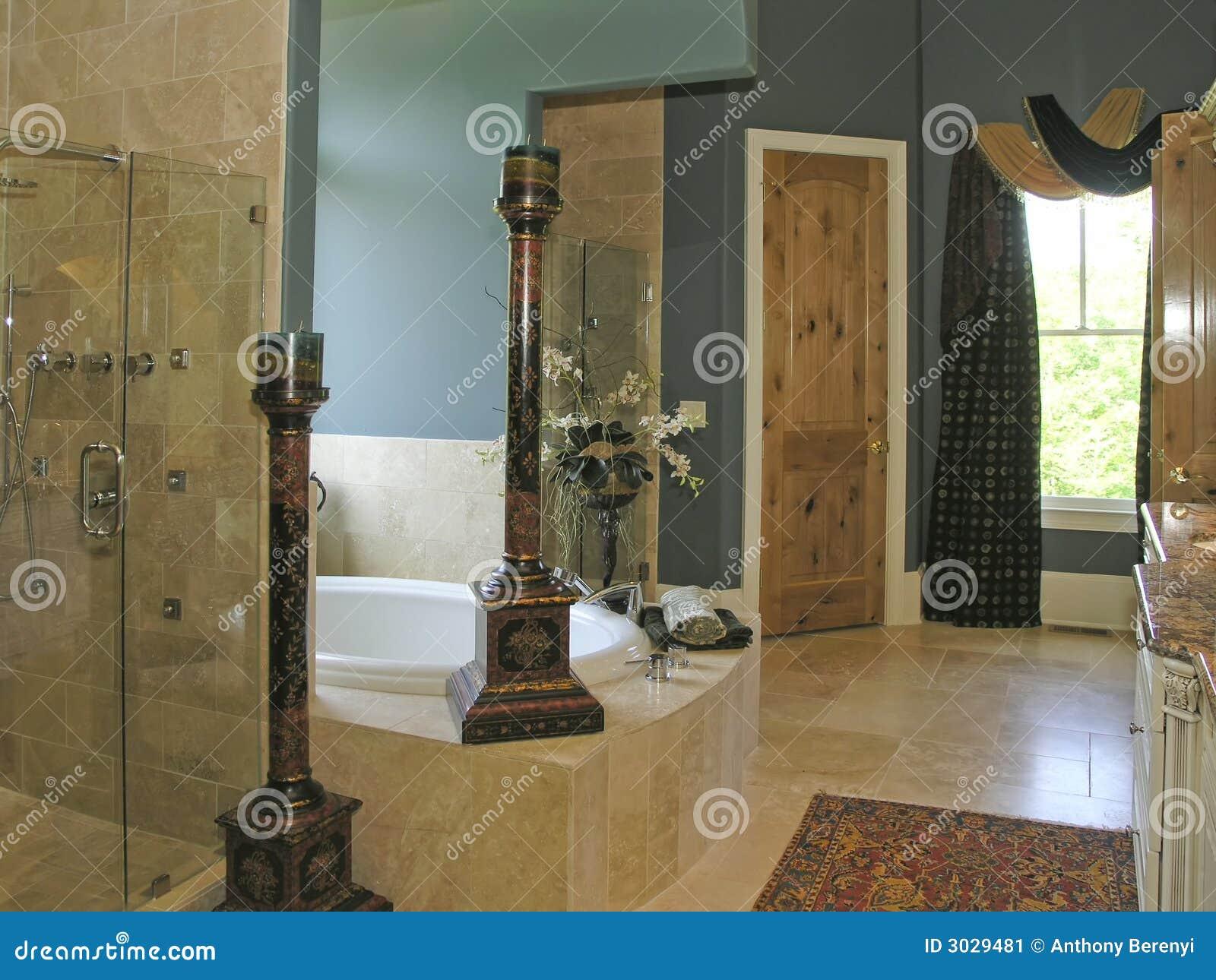 luxus 2 badezimmer 2 stockbild bild 3029481. Black Bedroom Furniture Sets. Home Design Ideas
