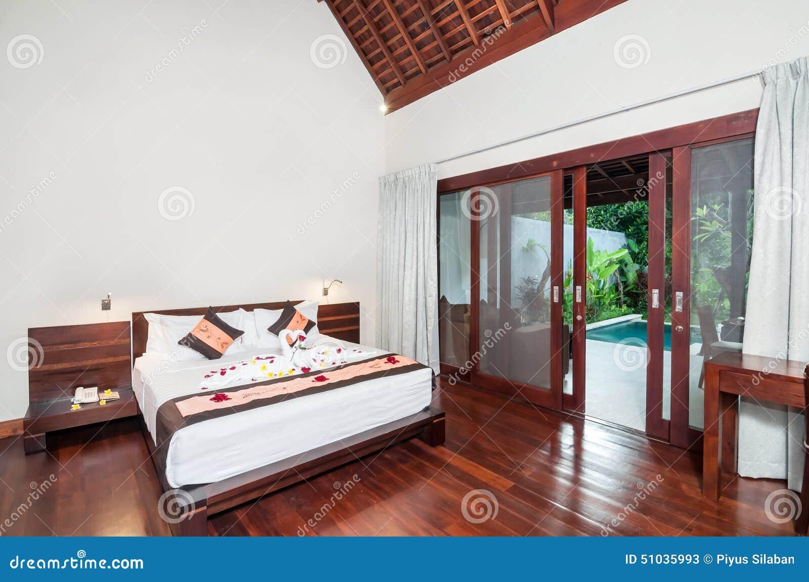 Luxus  und romantisches schlafzimmer hotel stockfoto   bild: 51035993