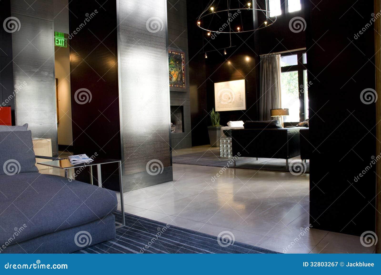 Luxushotellobby-Wohnzimmerinnenraum
