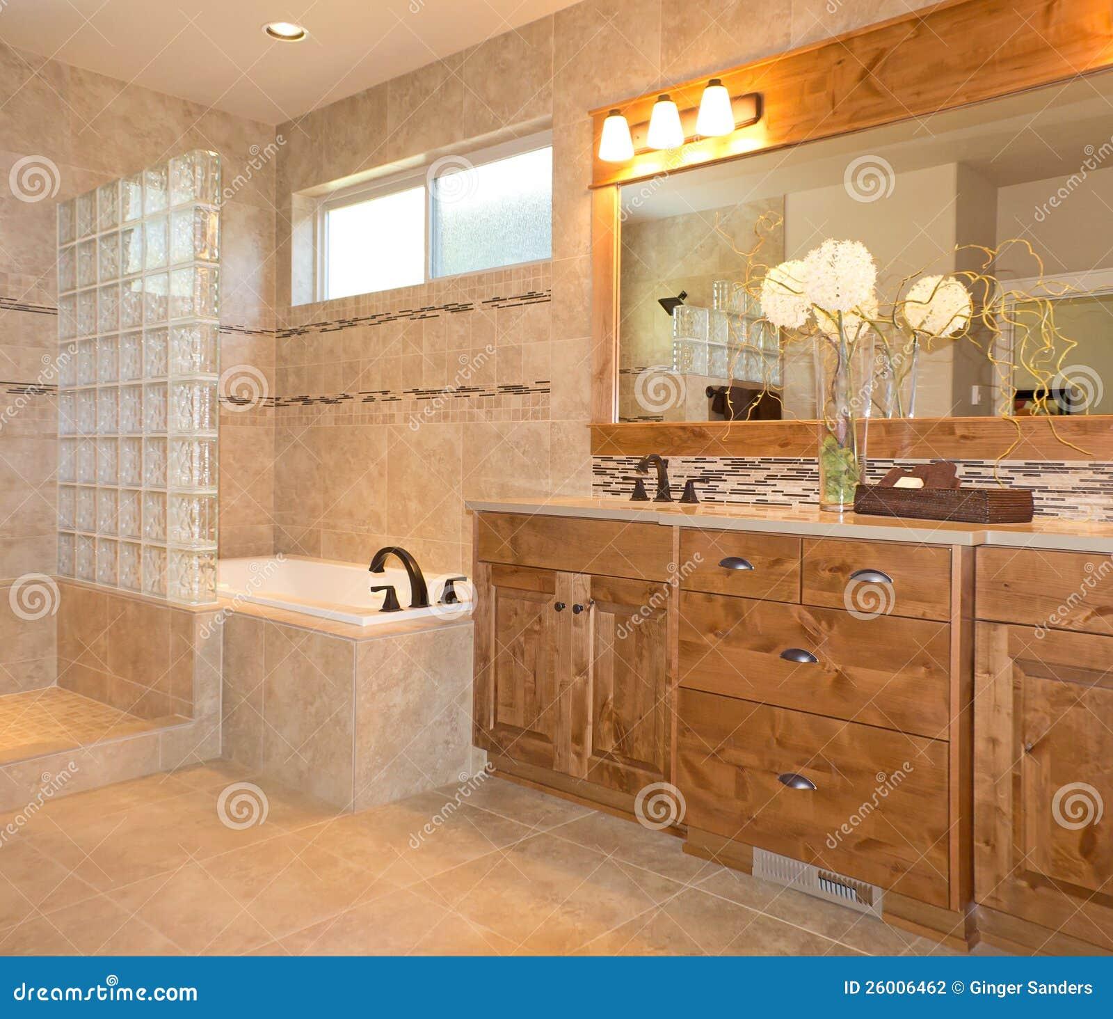 Wonderful Royalty Free. Download Luxuxfliese Badezimmer In Der Beige Und Im Gold ... Home Design Ideas