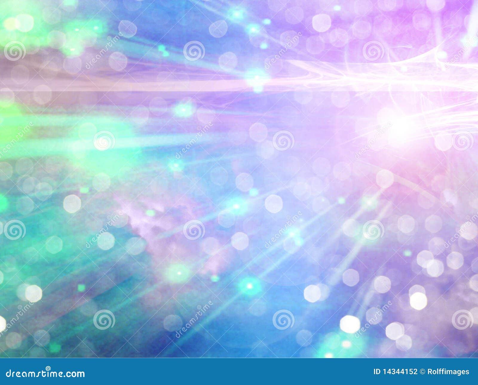 Luz abstrata