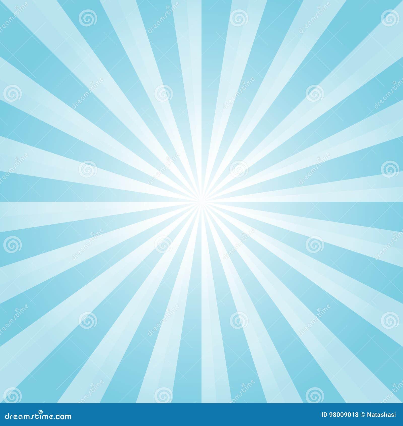 Luz abstrata - o azul irradia o fundo Cmyk do EPS 10 do vetor