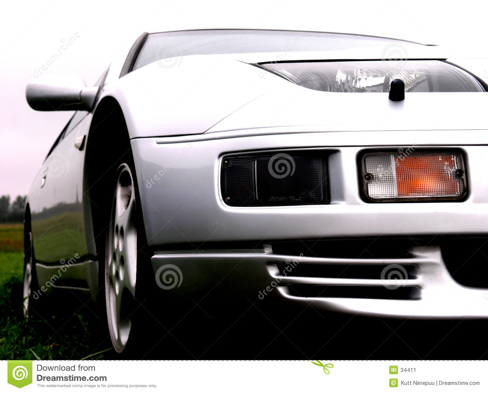 Luz - carro cinzento