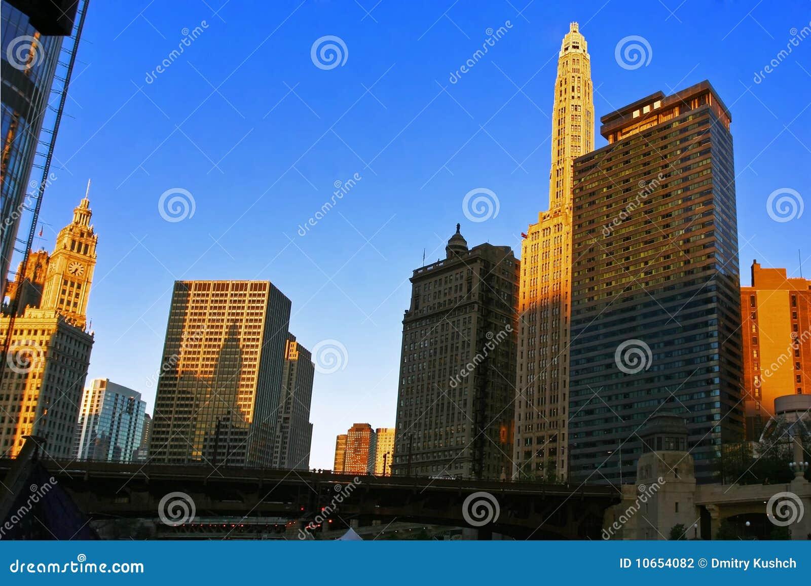 Luz de la mañana de Chicago