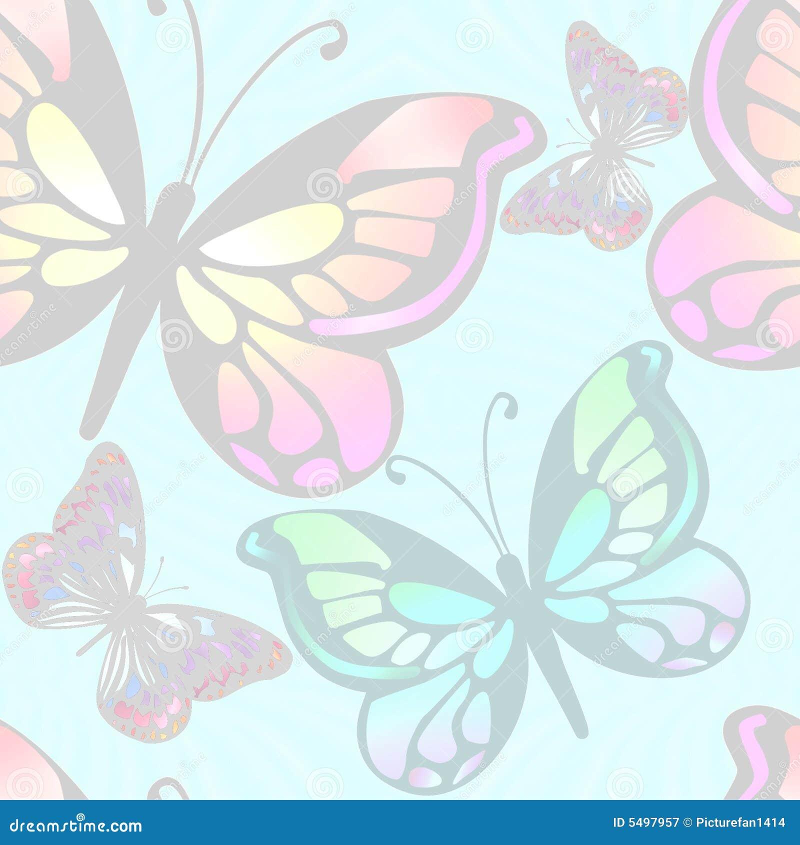 Luz De Las Mariposas Del Fondo Stock de ilustración