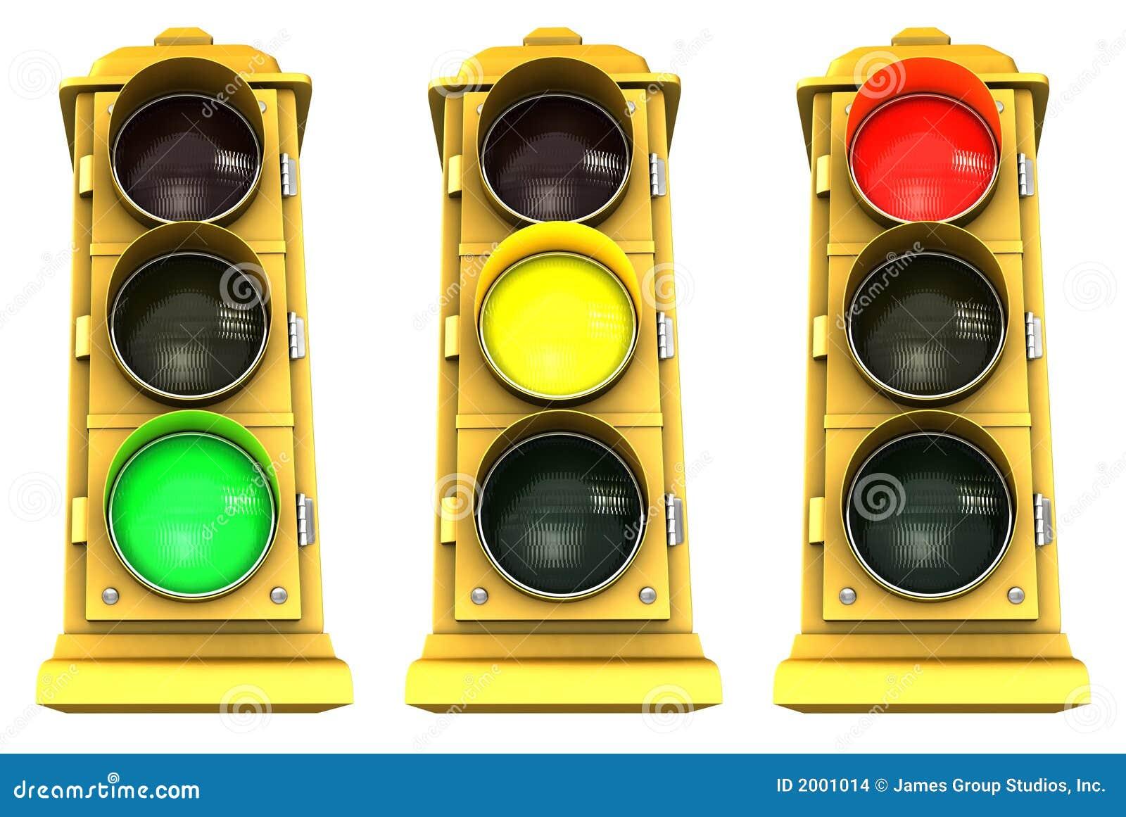 Luz de parada céntrica 3 paquetes