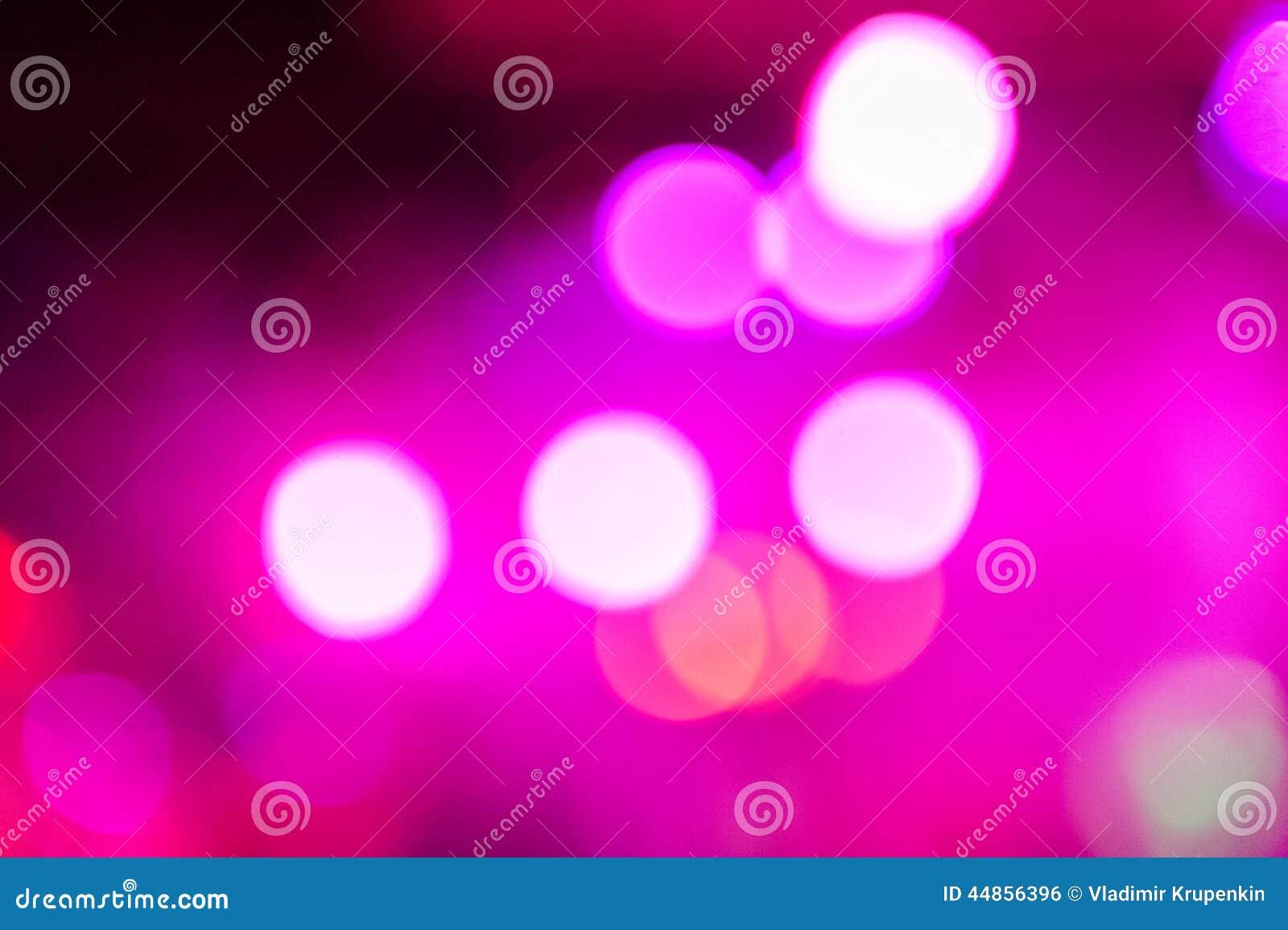Luz del club de Defocus Luces borrosas