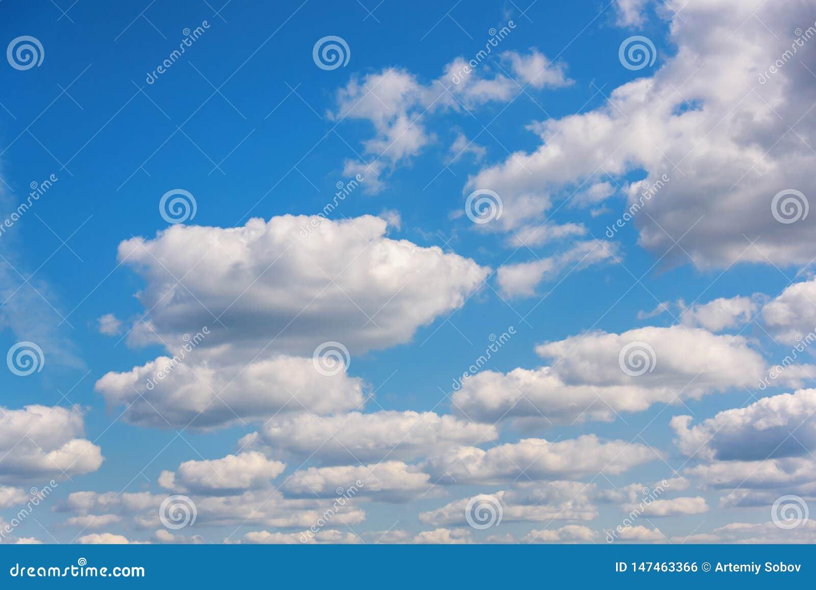 Luz del día divina en un día de verano soleado La composición natural del cielo azul