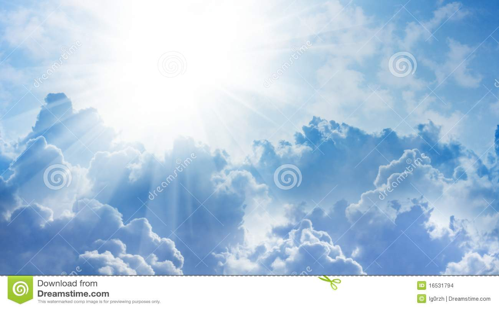 Luz do céu
