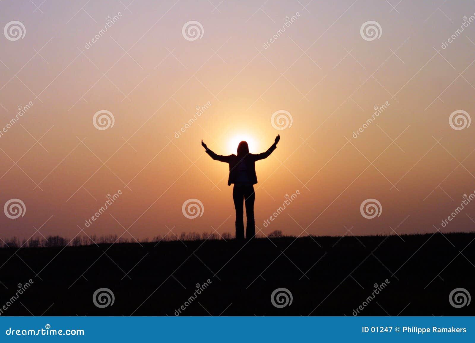 Luz do sol bem-vinda