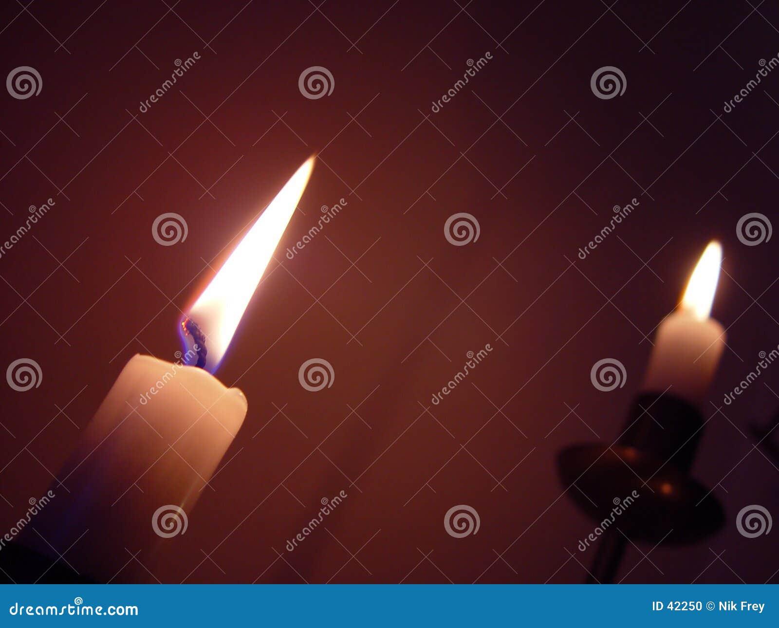 Download Luz? I de la vela foto de archivo. Imagen de navidad, fuego - 42250