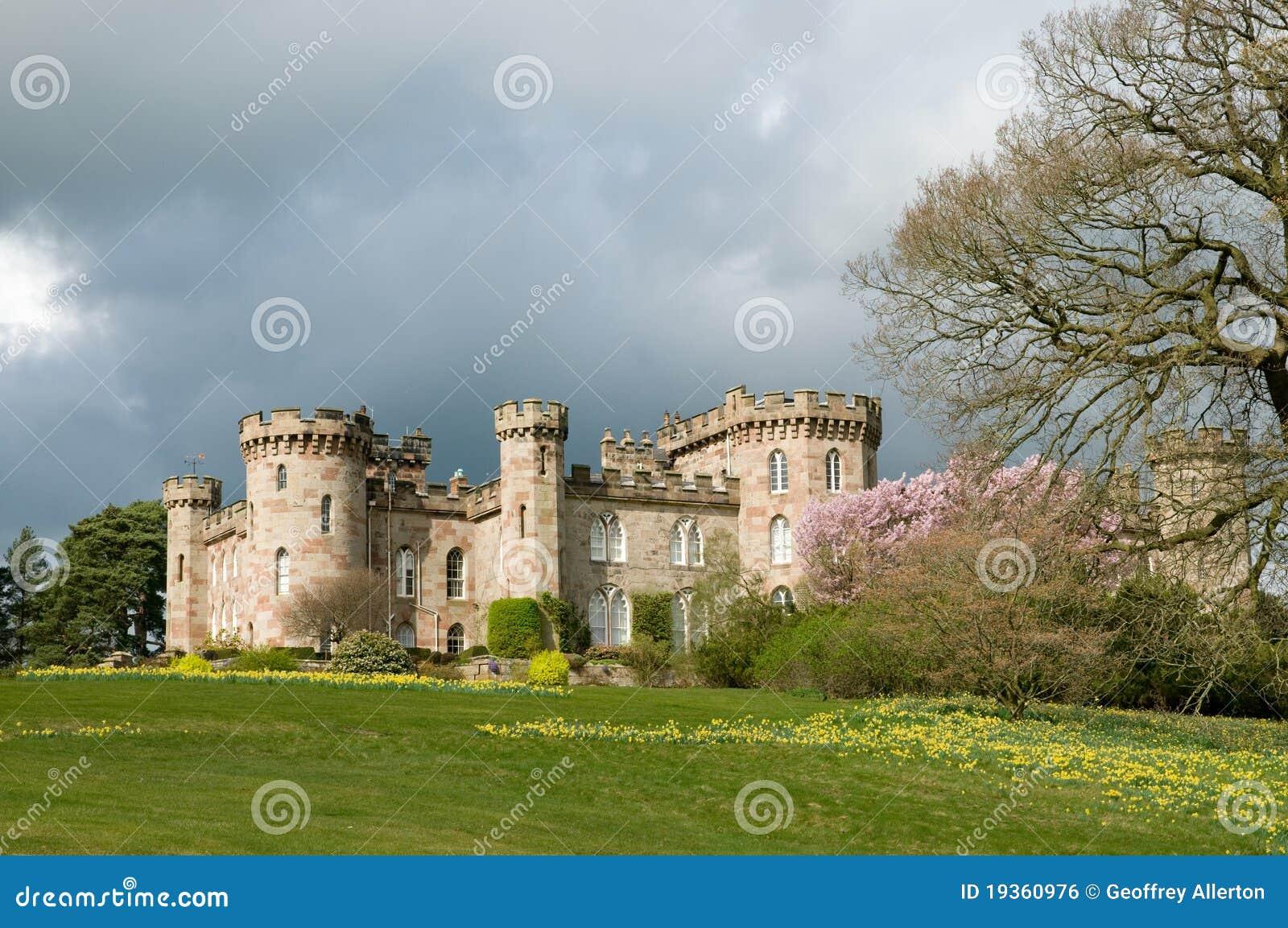 Luz no castelo