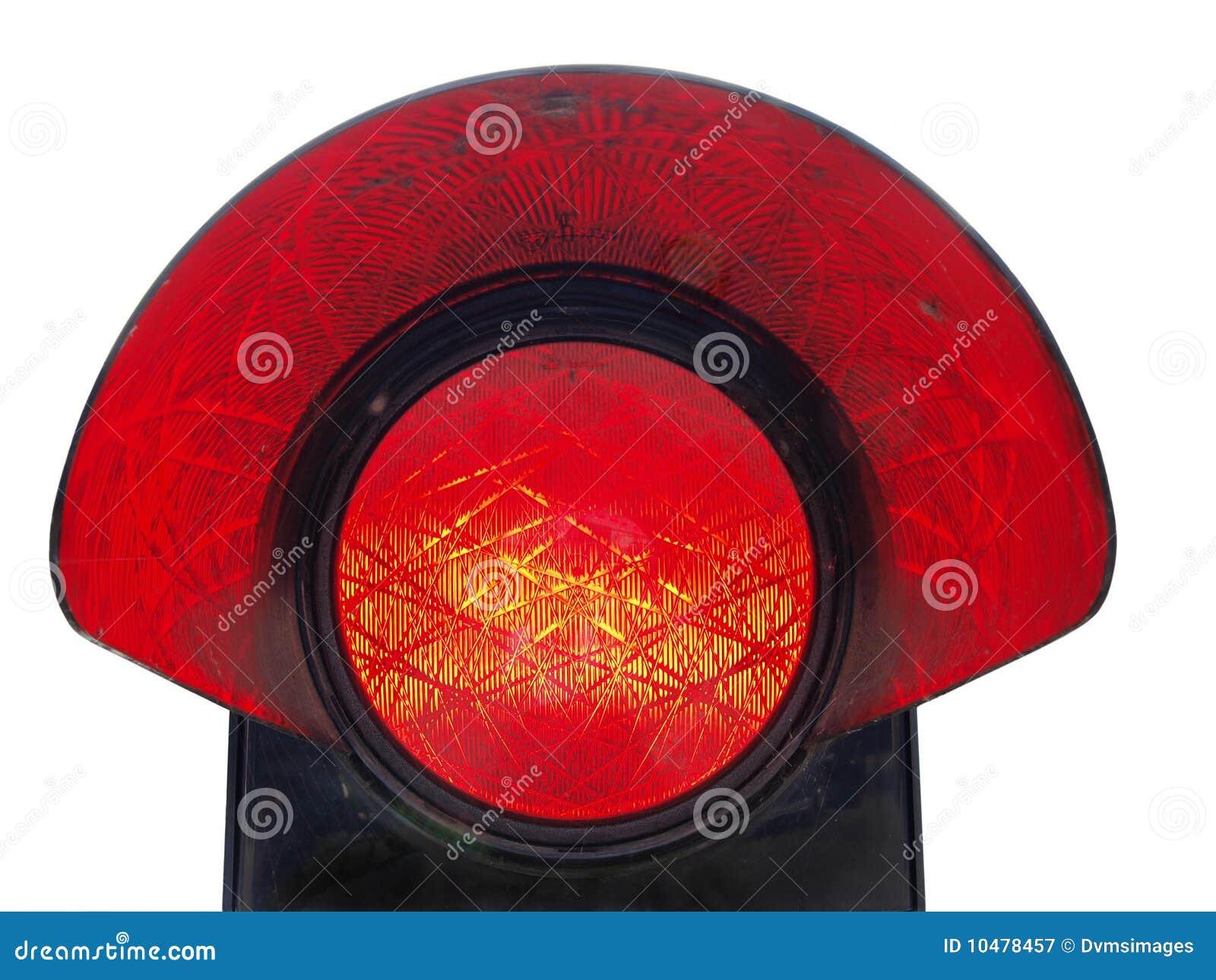 Luz roja de la parada