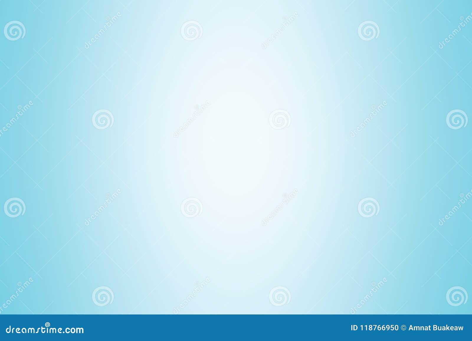 Luz suave azul da cor do fundo do inclinação, papel de parede brilhante macio azul bonito, borrão macio do inclinação da matiz az