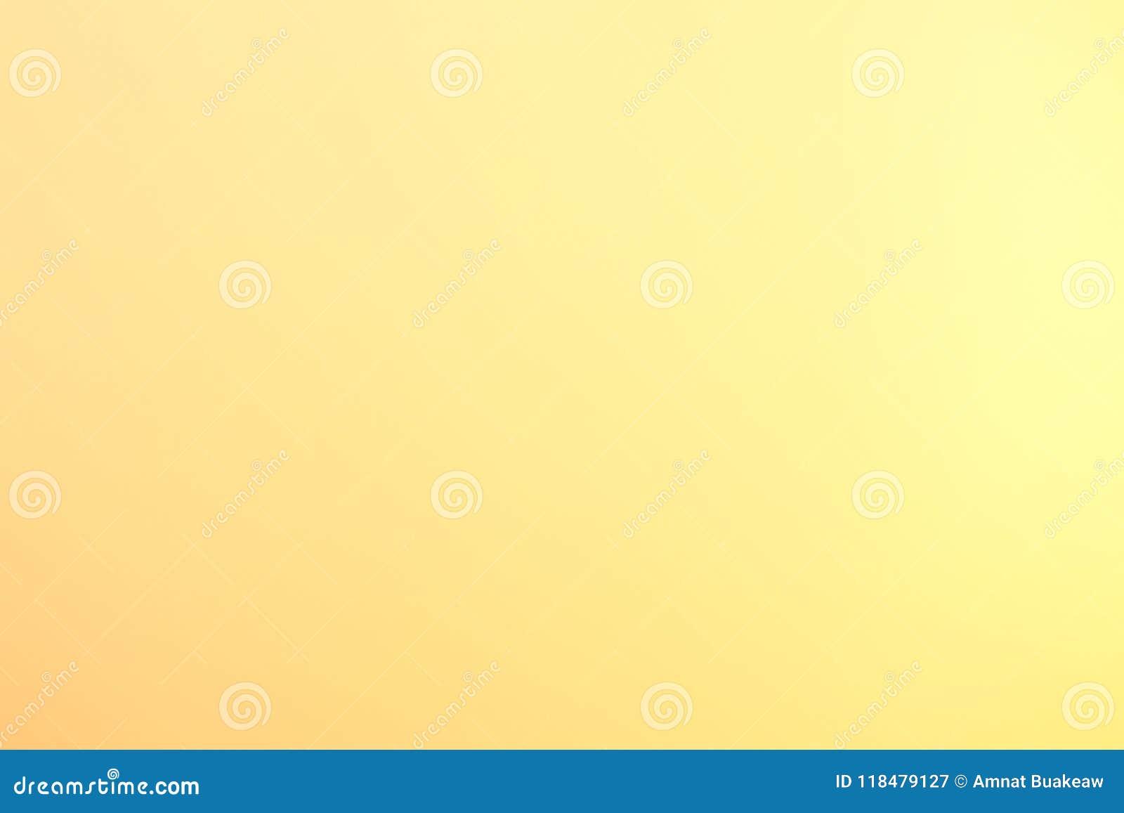 Luz suave do fundo - cor pastel obscura do ouro amarelo, textura brilhante da arte abstrato gráfica do inclinação do ouro amarelo