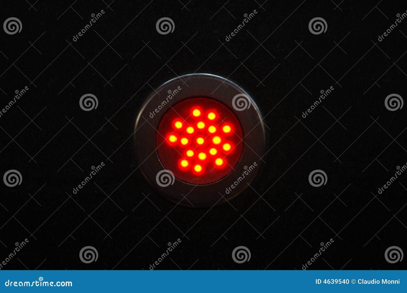 Luz vermelha