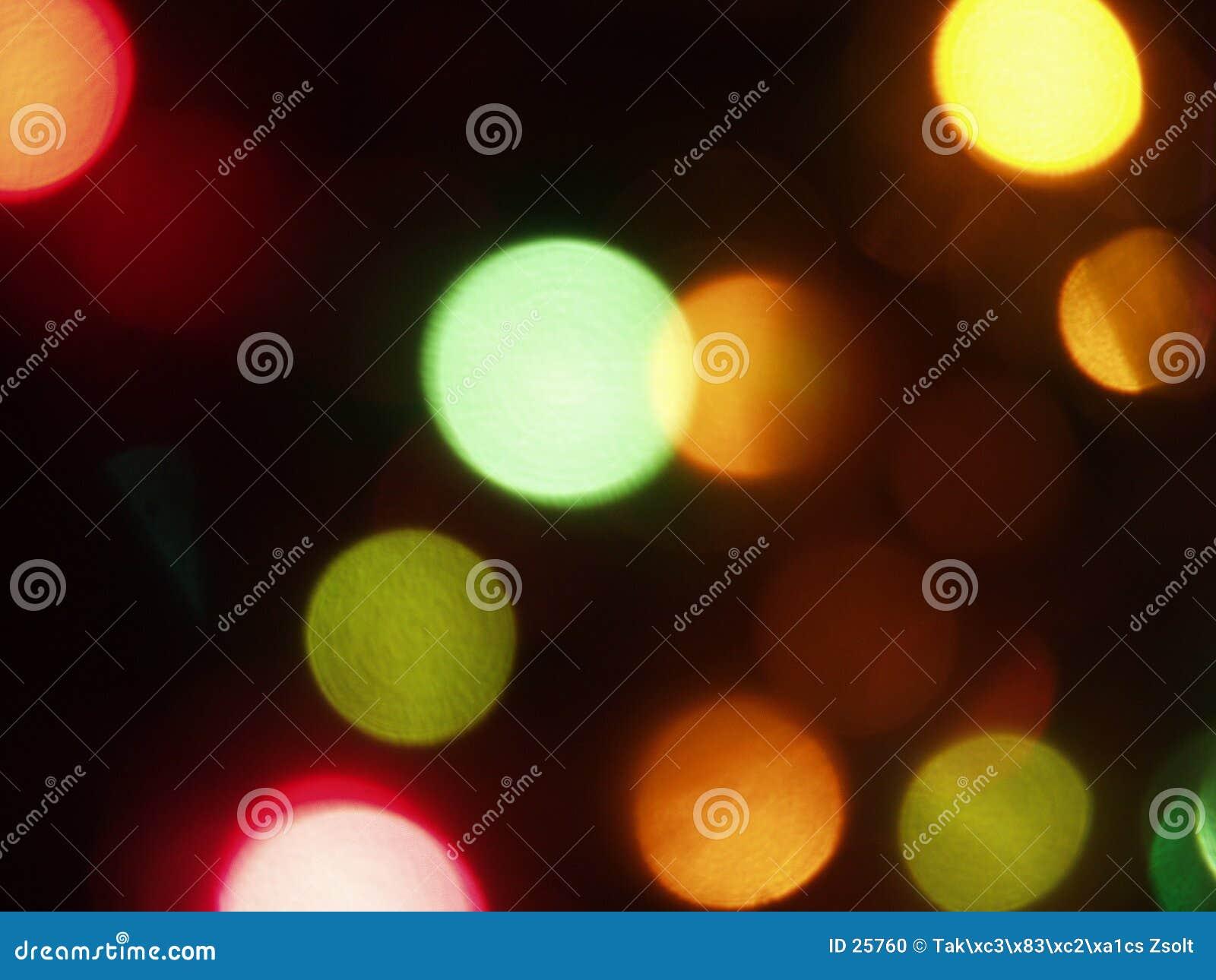 Luzes coloridas