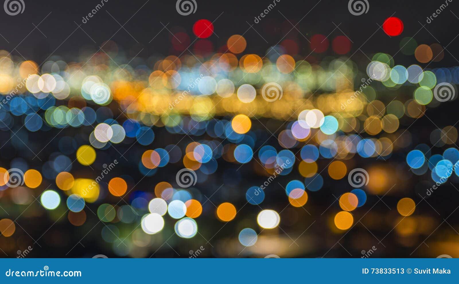 Luzes de Bokeh