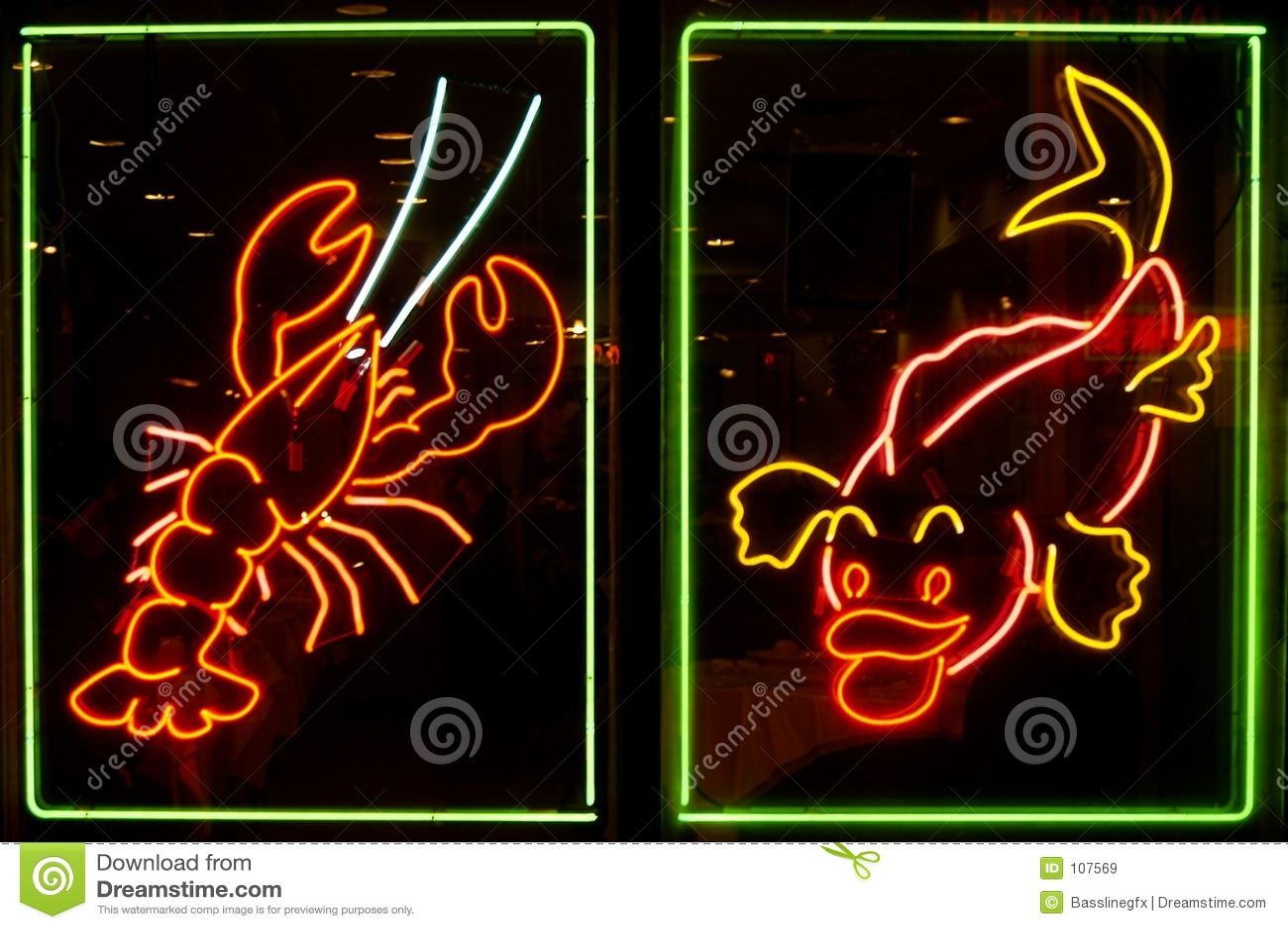 Luzes de néon