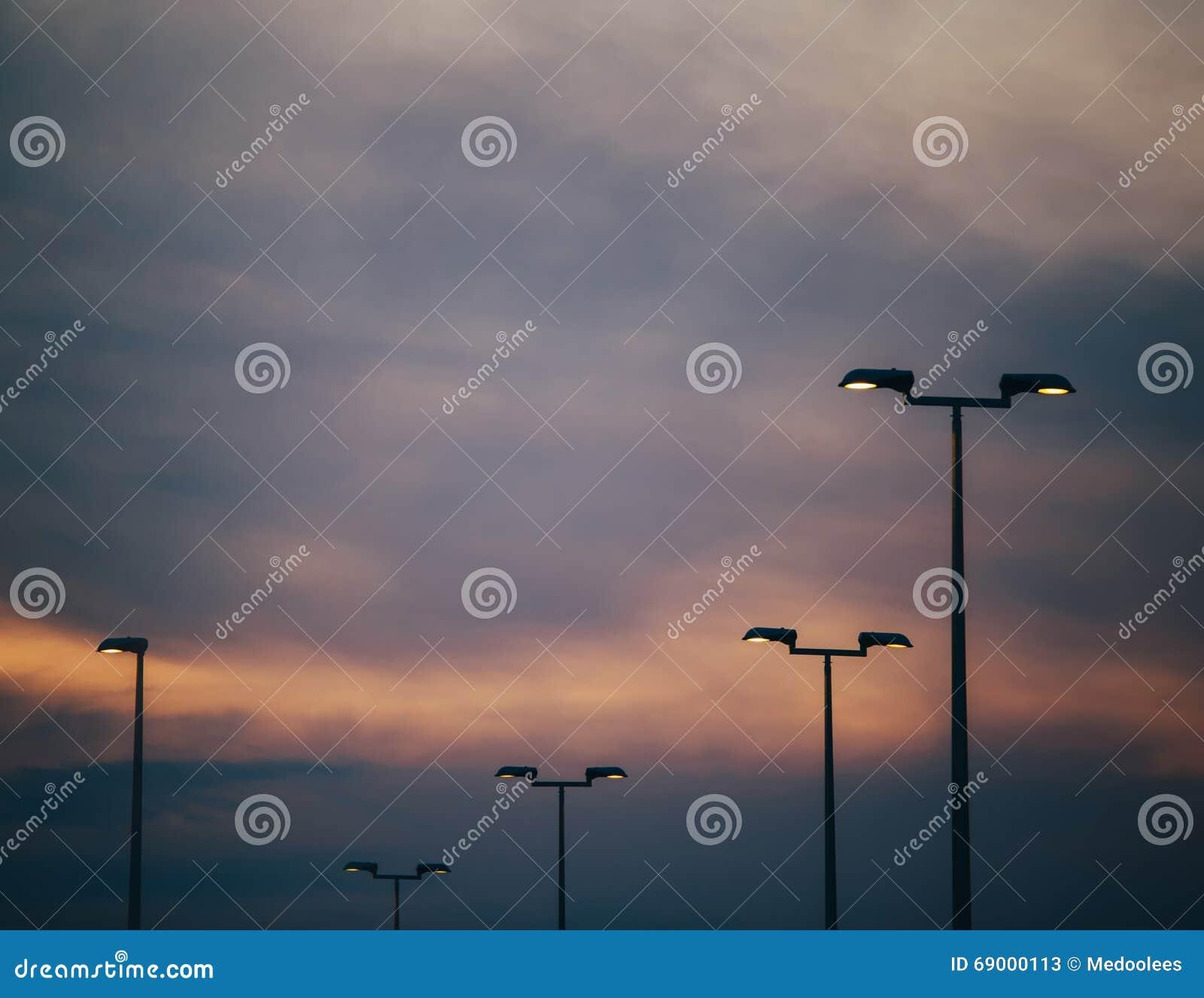 Luzes de rua