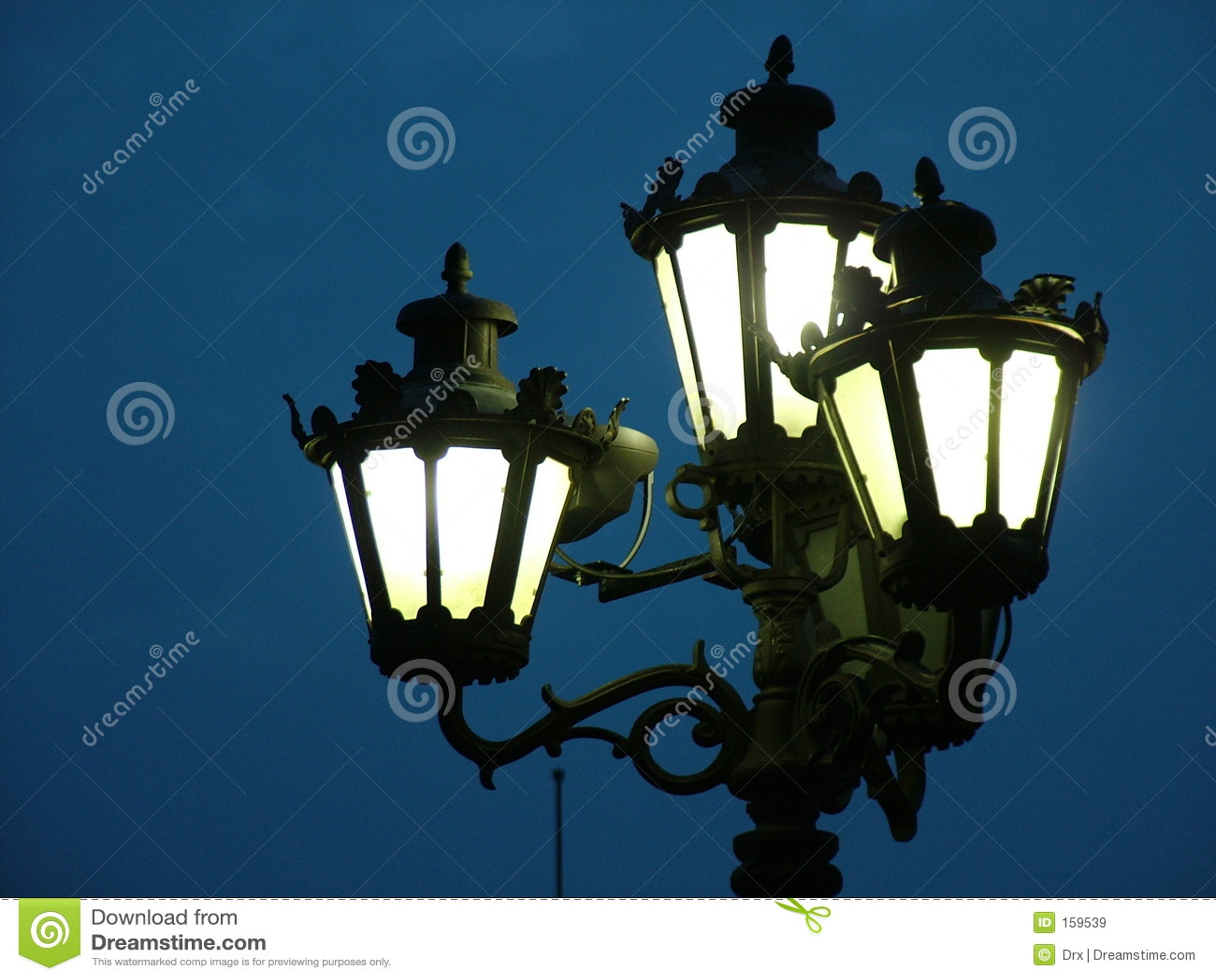 Luzes de rua - lanterna