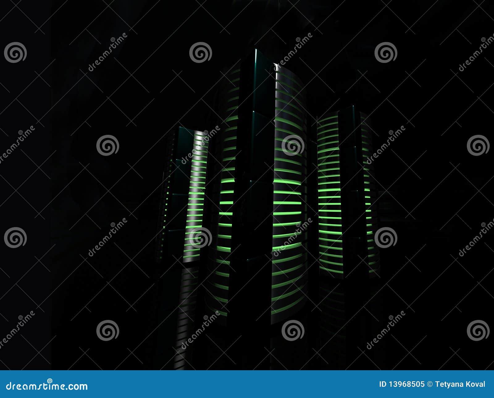 Luzes do server