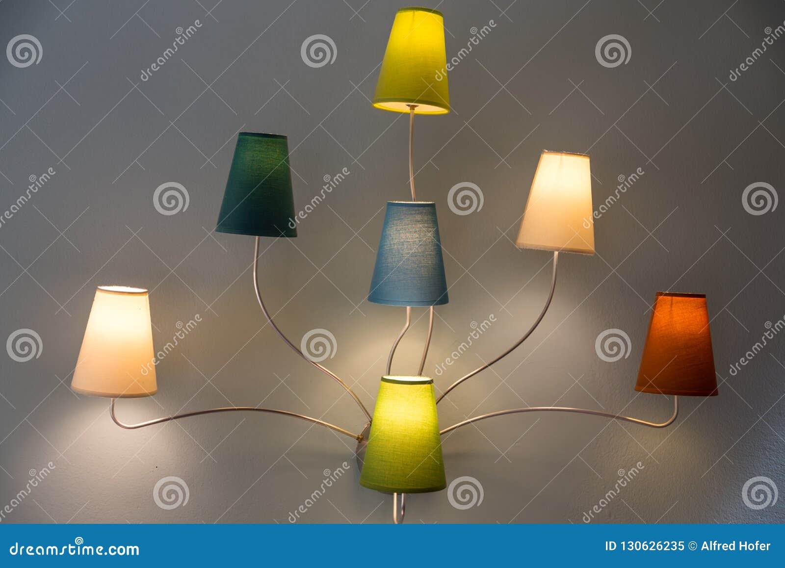 Luzes interiores coloridas - lâmpadas