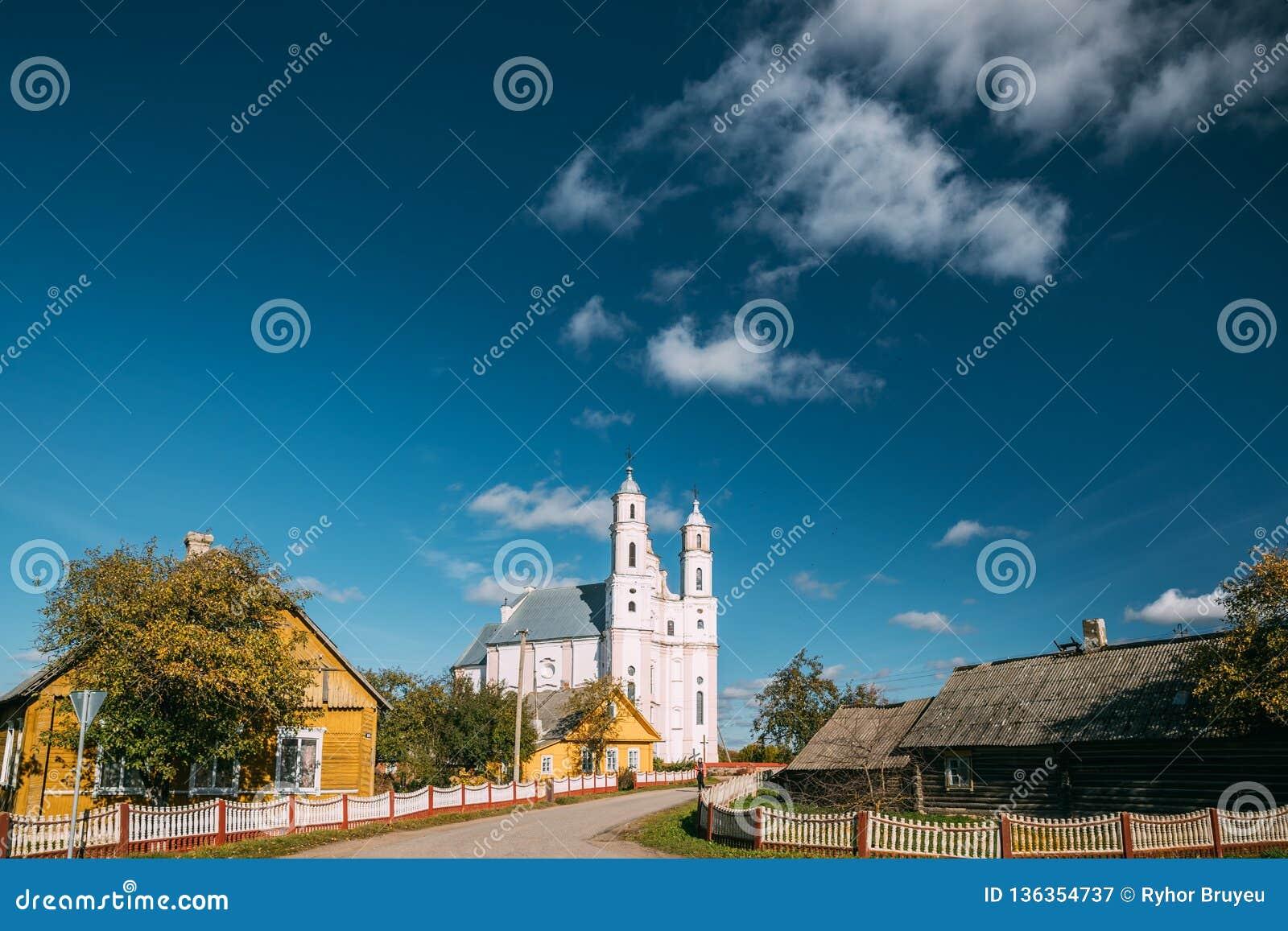Luzhki, región de Vitebsk, Bielorrusia Iglesia de St Michael Archangel