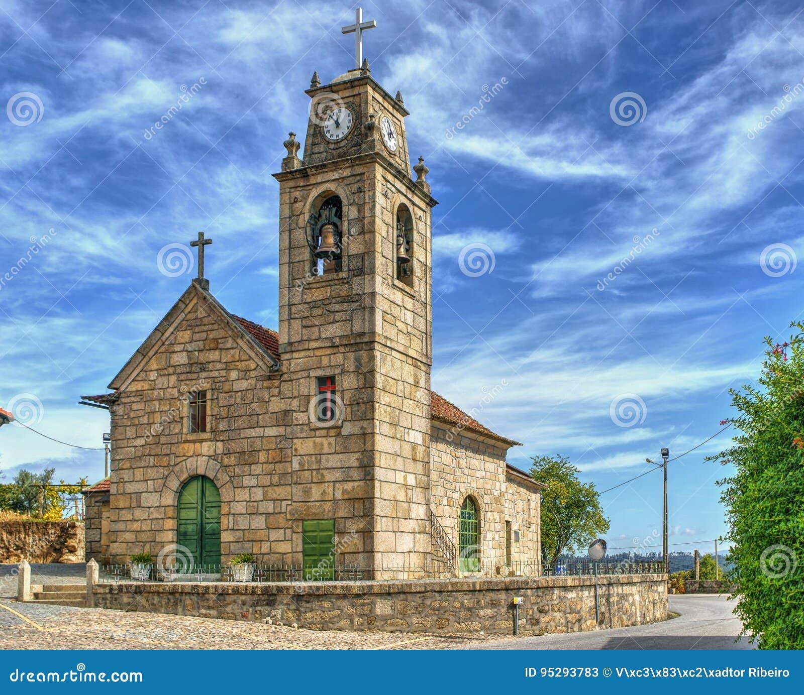 Luzim church in Penafiel