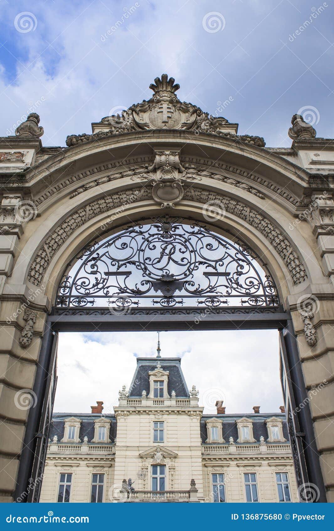 Lviv pałac potocki barok