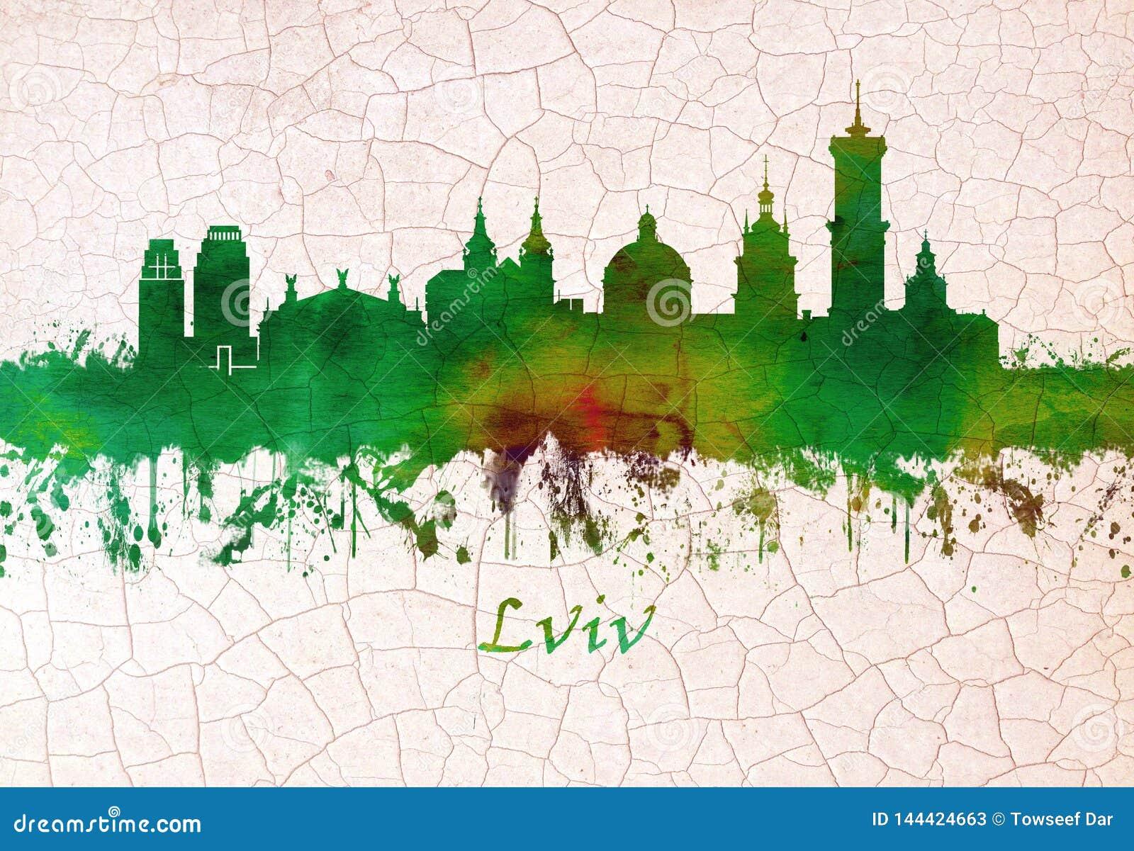Lviv Ukraina horisont