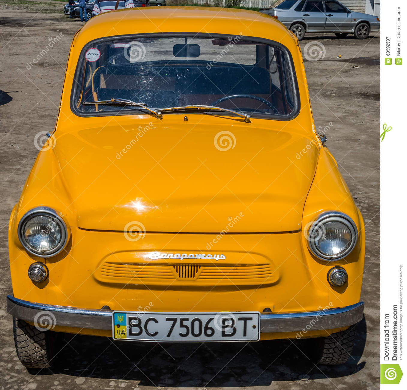 APRIL, 2016: Old Vintage Small Car Brand