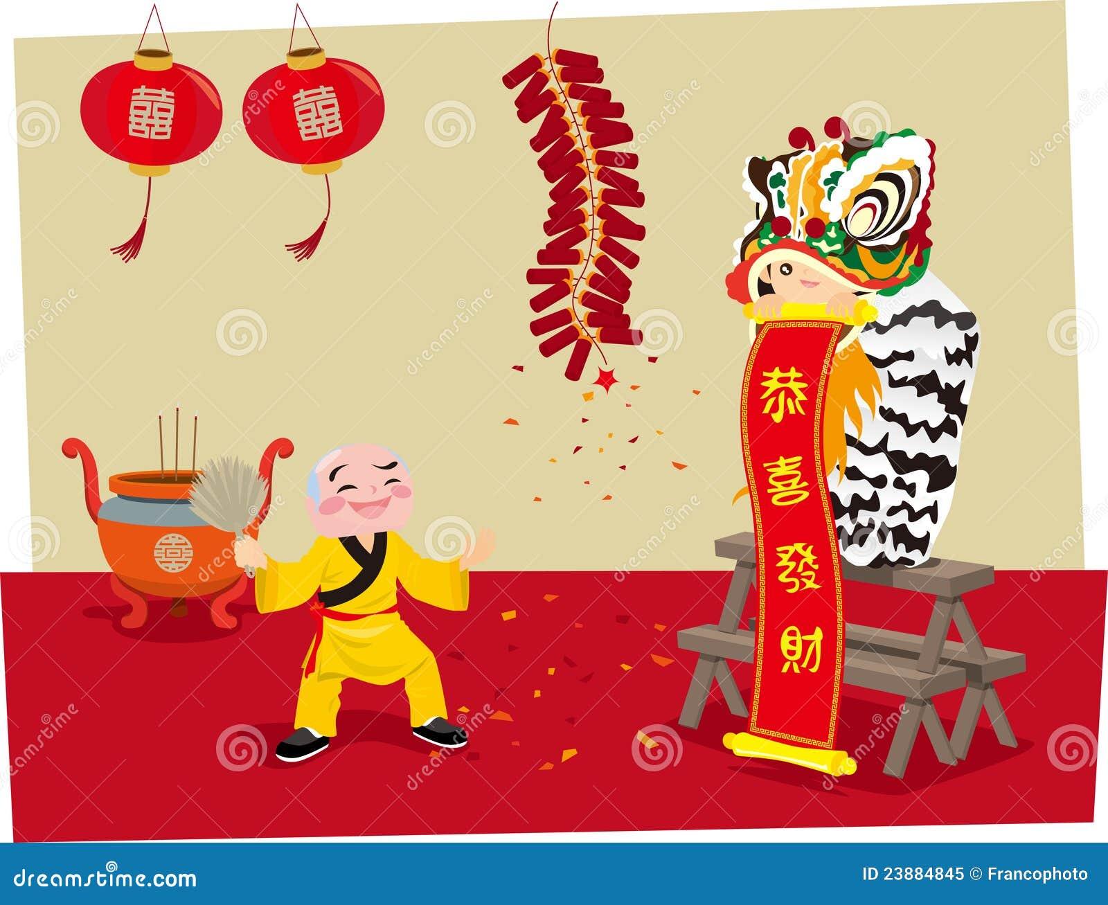 Lwa chiński Taniec