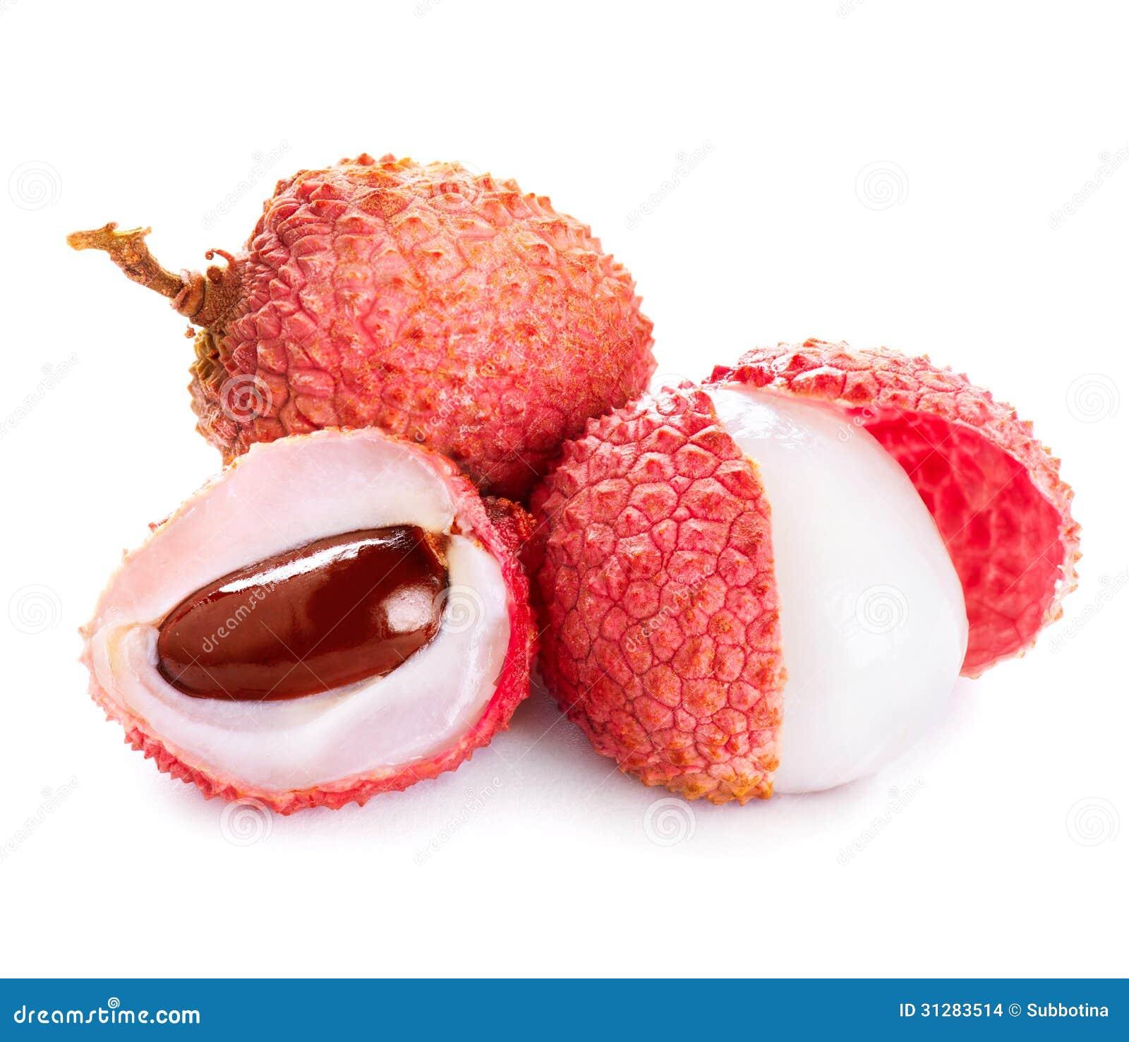 Lychee. Świezi lychees