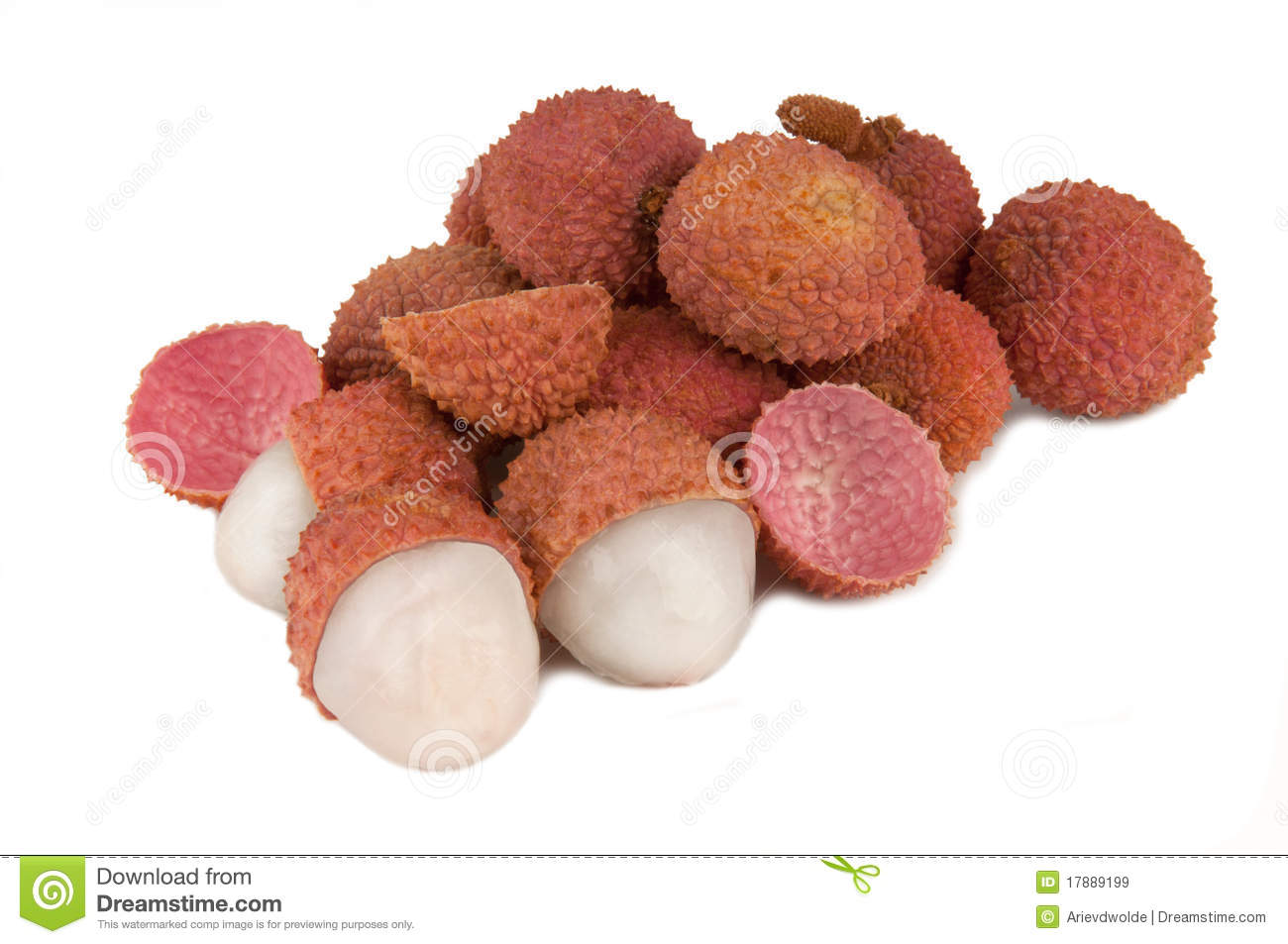 Lychee Fruits Royalty Free Stock Images - Image: 17889199