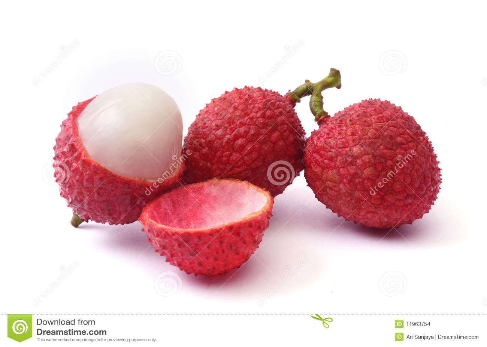 Lychee frukt