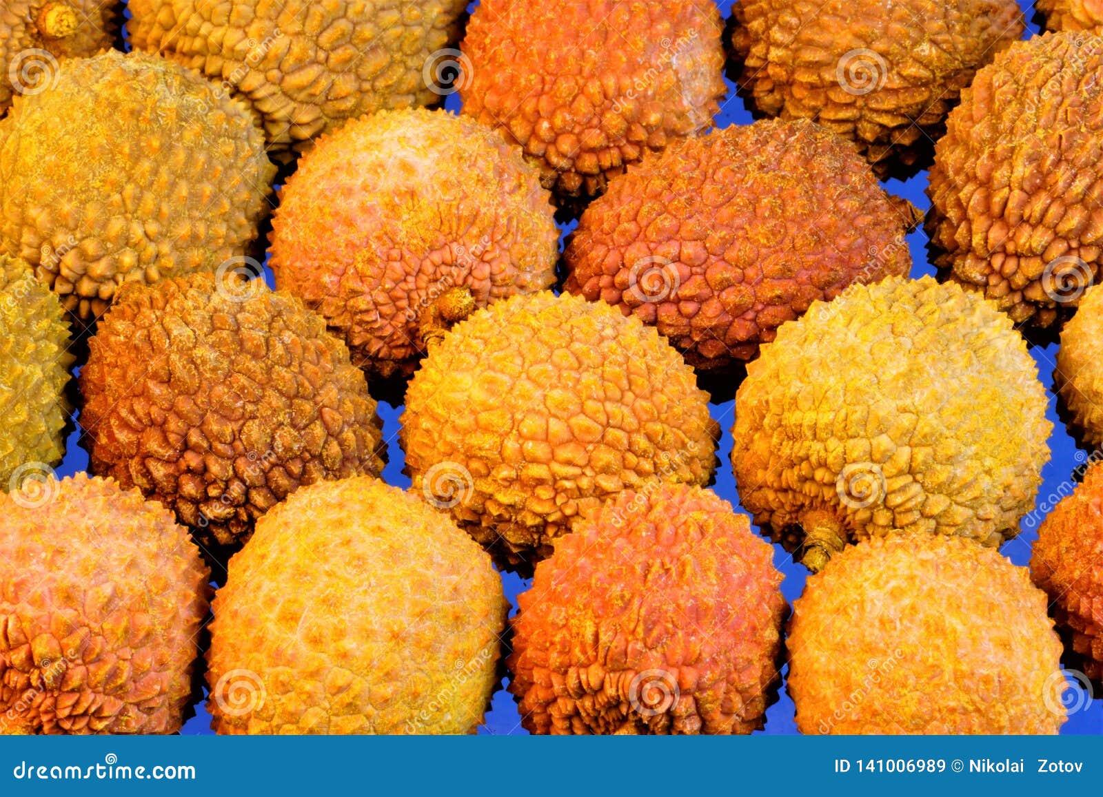 Lychee jest wyśmienicie, fragrant, czerwonawym egzotycznym owoc, Lychee wielką dostawę pożytecznie odżywki Ja używa w kucharstwie