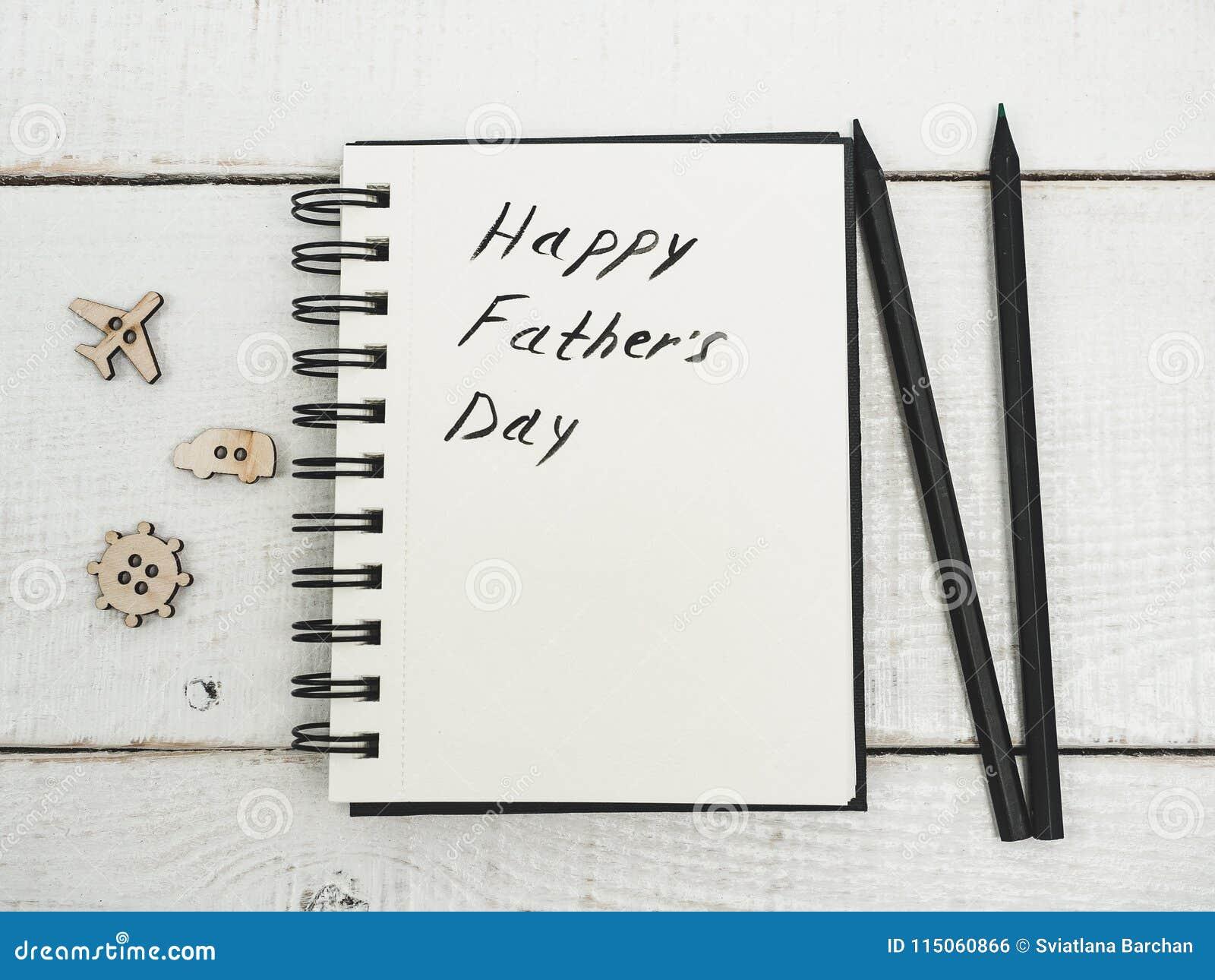 Lyckönskan på dag för fader` s