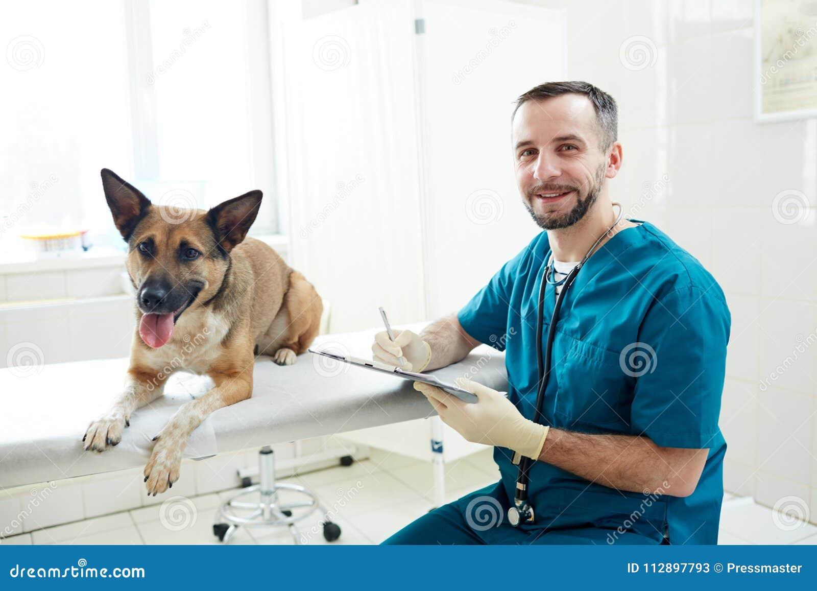Lyckad veterinär