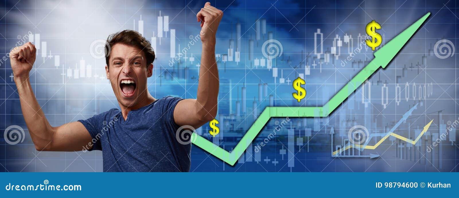 Lycklig aktieägareman