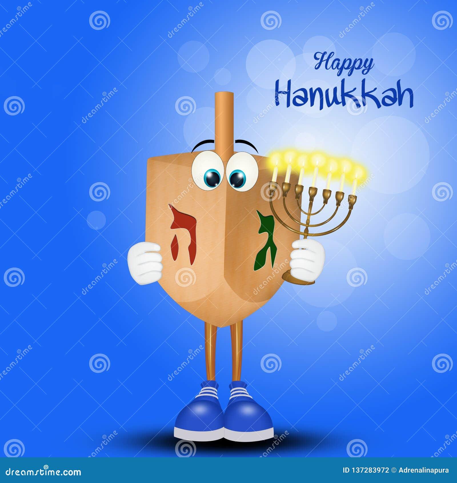 Lycklig Chanukkah, festival av ljus